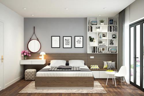 Ý tưởng thiết kế nội thất phòng ngủ diện tích 15m² với tổng chi phí 20 triệu đồng - Ảnh 8.