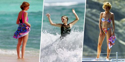 Bình thường kín đáo thanh lịch, không ngờ khi khoe dáng với đồ bơi Công nương Diana lại gợi cảm thế này - Ảnh 3.