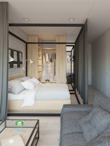 Có căn hộ 42m² trong tay, bạn cần thiết kế nhà như thế nào cho cuộc sống sinh hoạt thật thoải mái - Ảnh 2.