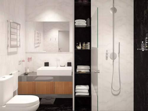 Có căn hộ 42m² trong tay, bạn cần thiết kế nhà như thế nào cho cuộc sống sinh hoạt thật thoải mái - Ảnh 4.