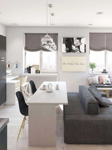 Có căn hộ 42m² trong tay, bạn cần thiết kế nhà như thế nào cho cuộc sống sinh hoạt thật thoải mái - Ảnh 6.