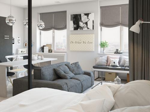 Có căn hộ 42m² trong tay, bạn cần thiết kế nhà như thế nào cho cuộc sống sinh hoạt thật thoải mái - Ảnh 8.