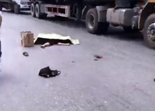 Bắc Ninh: Bé gái 13 tuổi tử vong dưới bánh container khi đang đi mua đồ dùng học tập