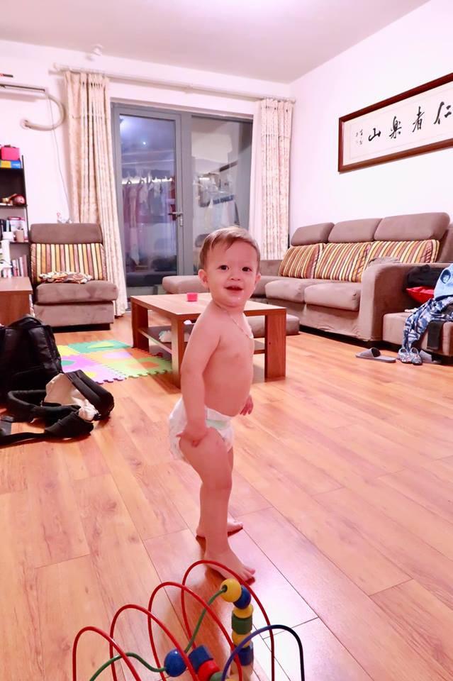 Tập gym đến tận ngày gần đẻ, mẹ Việt ở Trung Quốc cổ vũ các mẹ bầu: Làm gì miễn mẹ vui thì con mới khỏe - Ảnh 8.