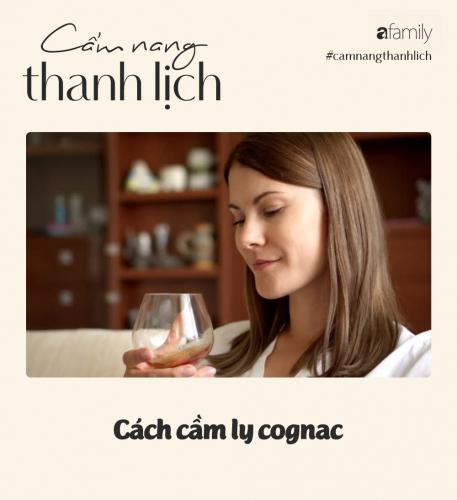 cach cam cognac
