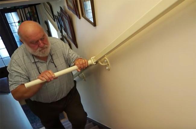 Nếu nhà có người già bạn hãy sắm ngay chiếc tay vịn cầu thang này - Ảnh 5.