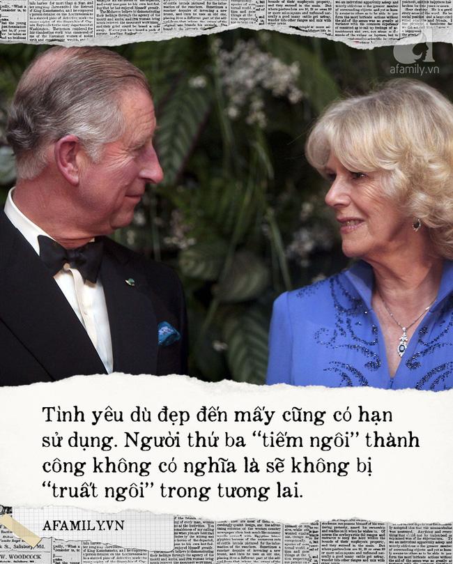 Camilla bị đuổi khỏi cung điện còn Đổng Khiết thì vạn người tẩy chay: An Nguy à, làm người thứ ba đã bao giờ có kết cục tốt đẹp đâu! - Ảnh 2.
