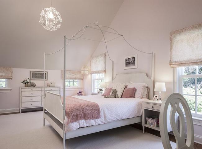 Những mẫu giường Canopy vừa đẹp vừa nữ tính khiến chị em mê mẩn - Ảnh 19.