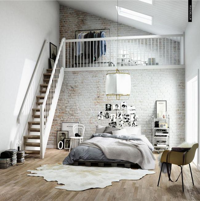 14 mẫu thiết kế cầu thang cho nhà có gác lửng, vừa tiết kiệm diện tích vừa làm duyên cho nhà nhỏ - Ảnh 12.