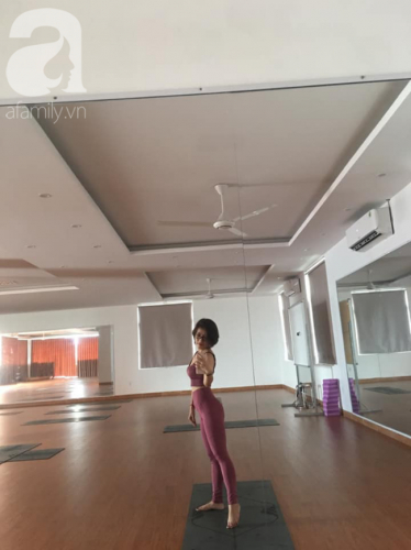 Mắc ung thư họng năm 35 tuổi, mẹ đơn thân tự đi viện mổ một mình, sống xinh đẹp, vui vẻ nhờ từ bỏ công việc ổn định để làm HLV yoga - Ảnh 10.