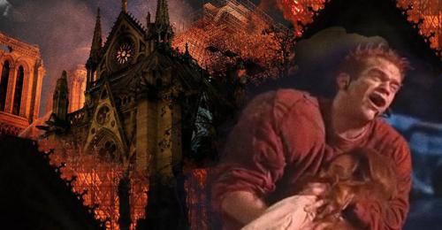 Đằng sau ngọn lửa tàn khốc thiêu rụi nhà thờ Đức Bà Paris đã từng có 1 tình yêu ám ảnh như thế - Ảnh 1.
