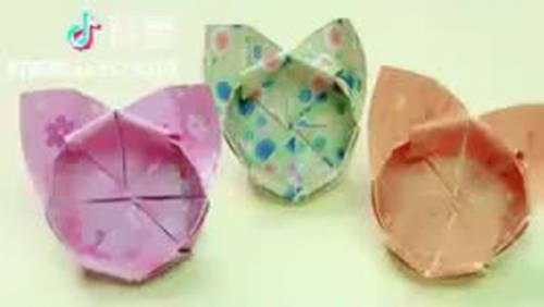 Một vài kiểu gấp giấy origami trang trí cực đẹp và độc đáo!