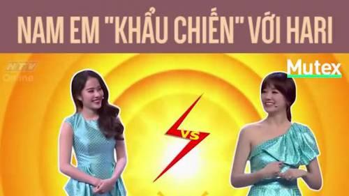 """Nam Em """"khẩu chiến"""" với Hari Won – ai là người chiến thắng?"""