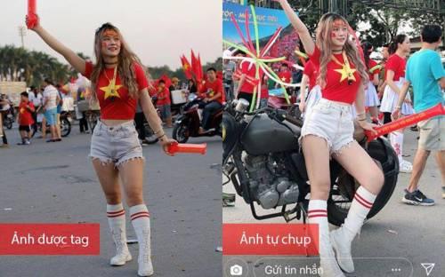 Ảnh thật núc ních mỡ, hotgirl Việt bị tố lừa dân mạng chứ không hề bốc lửa như hình-Làm đẹp