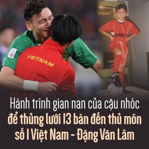 Hành trình gian nan của cậu nhóc để thủng lưới 13 bàn đến thủ môn số 1 Việt Nam – Đặng Văn Lâm.