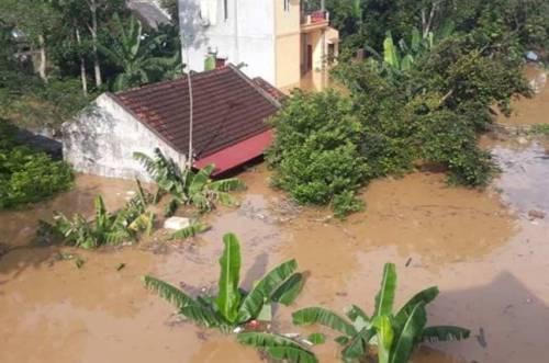 13 người chết và mất tích vì mưa lũ ở Thanh Hóa