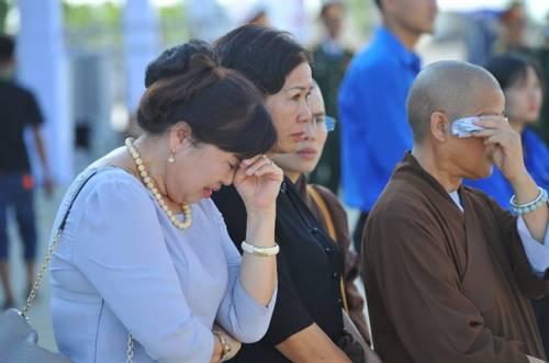 Hình ảnh xúc động tại lễ Quốc tang Chủ tịch nước Trần Đại Quang