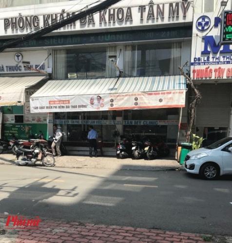 Phong kham Da khoa Tan My 'thue' bac si chua co chung chi hanh nghe kham benh