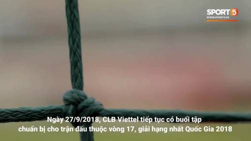 HLV Hải Biên nói gì trước ngày trọng đại của CLB Viettel?